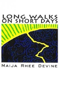 Cover art for Maija Devine's poetry collection