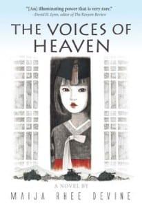 Cover art for the novel by Maija Rhee Devine