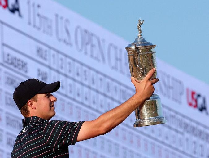 US Open spieth win