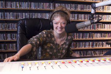 Sophia Fortmeyer KJHK DJ